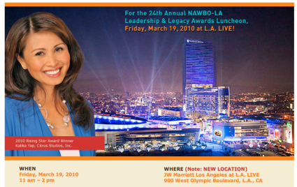 NAWBO-LA Rising Star Award