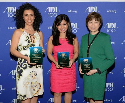 Honorees Dr. Sharon Nazarian, Kalika Nacion Yap and Anne Shen Smith