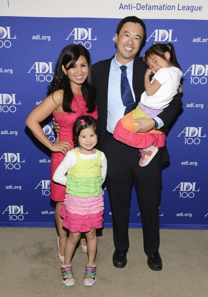 Kalika with her husband Rodney and daughters Malia and Kailani