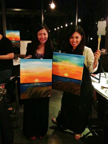 Wine and Canvas! Citrus Culture Day